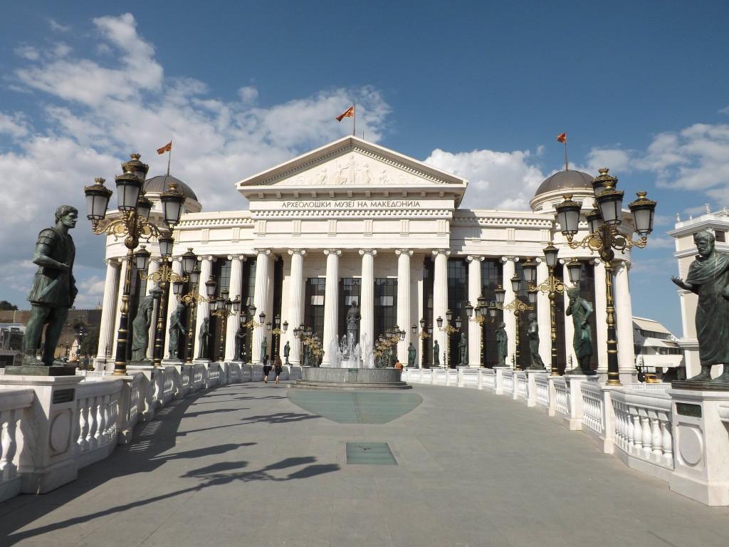 Skopje nowe