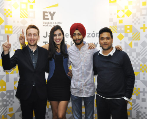 Young People from National Office with EY