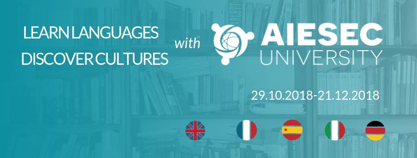 AIESEC University promotional